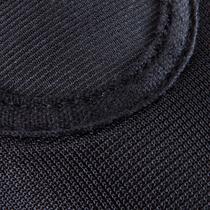 Chausson de Gymnastique Artistique en mesh 500 noir. - 1209934