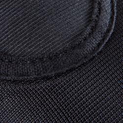 Chausson de Gymnastique Artistique en mesh 500 noir.