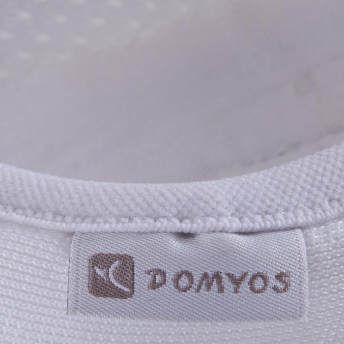 Zapatillas de Mesh Gimnasia blanco 500