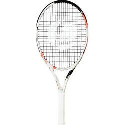 女童款網球拍TR990 25-白色/粉紅色