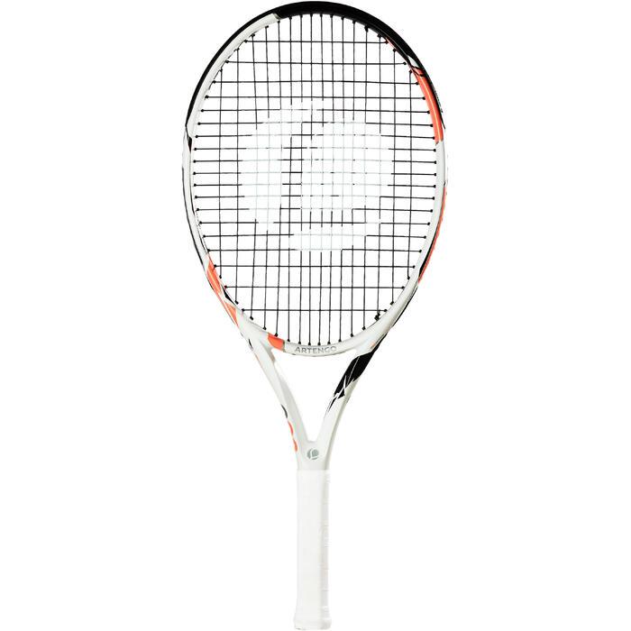 Tennisracket voor kinderen TR 990 25 wit/roze