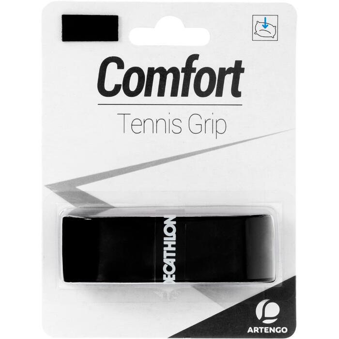 GRIP DE TENNIS ARTENGO CONFORT NOIR
