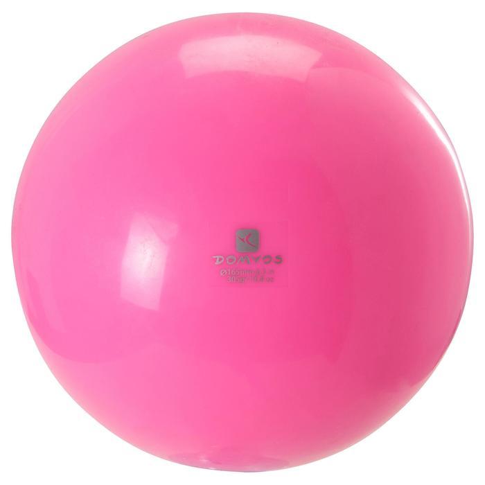 Ballon de Gymnastique Rythmique 165 mm rose - 1210089