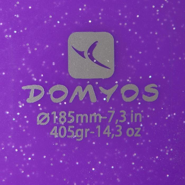 Pelota de Gimnasia Rítmica (GR) 185 mm lentejuelas turquesa Domyos ... 7358ec6e5c6c