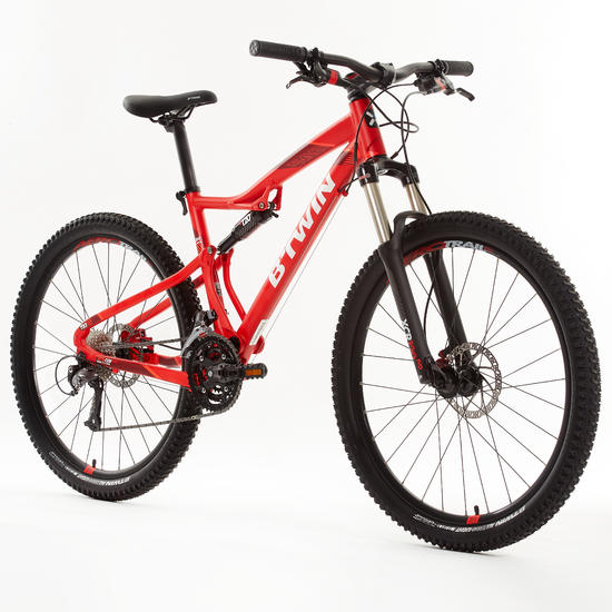 rockrider 540s full suspension mountain bike 27 5 sport mtb. Black Bedroom Furniture Sets. Home Design Ideas