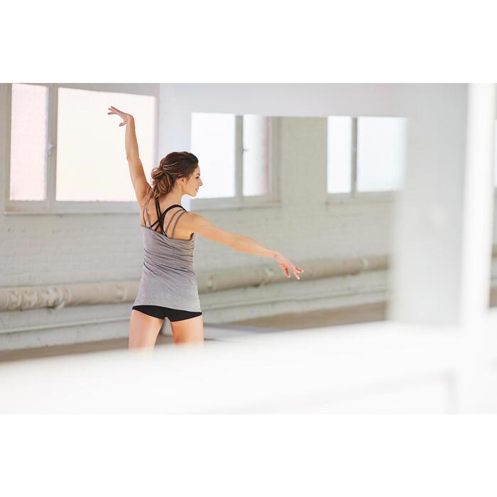 Tunique de danse à fines bretelles danse femme noire - 1210158