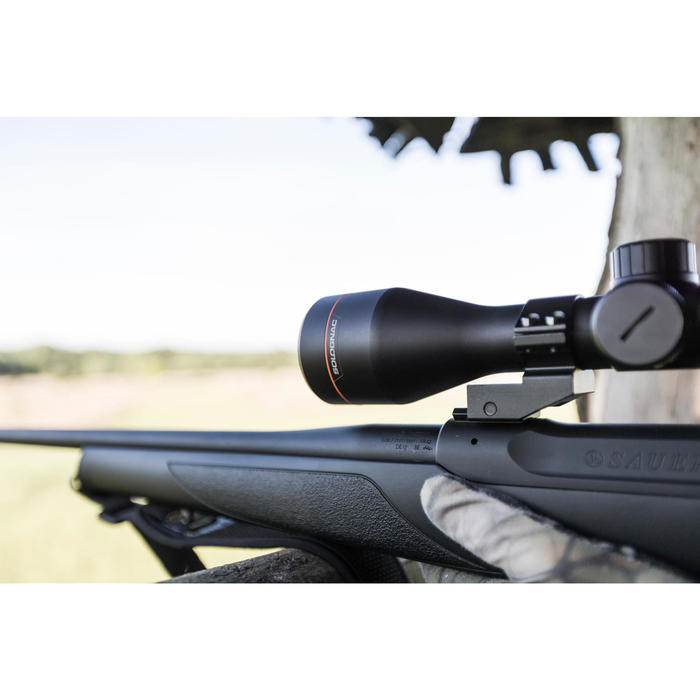 Visor Rifle Caza -Tiro Deportivo Solognac 3-12x50 Estanco Reticula Iluminada