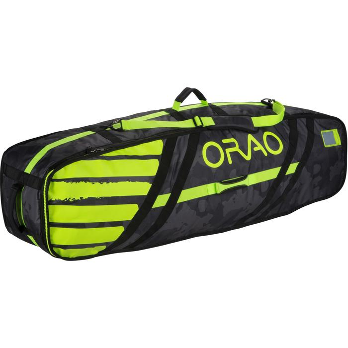 """""""DAILY"""" TWIN TIP GEAR BAG   143cm - yellow"""