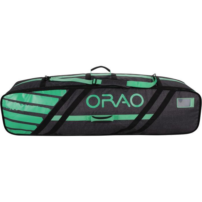 "Twintip boardbag kitesurf ""Daily"" 142 cm - groen"