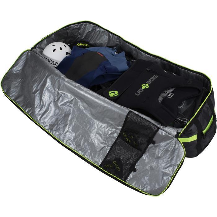 "DAILY KITESURFING GEAR BAG  ""HOME SPOT ""- 143cm - green - 1210227"