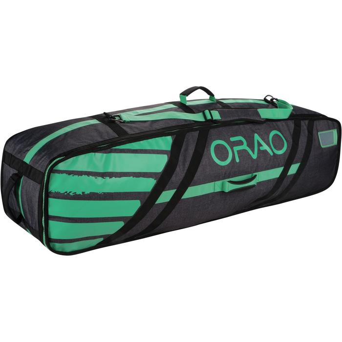 Funta Tabla Kitesurf Orao Twintip Bolsa Viaje Capacidad Máxima 143 cm Gris Verde