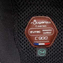 Reithelm C900 Sport schwarz/braun