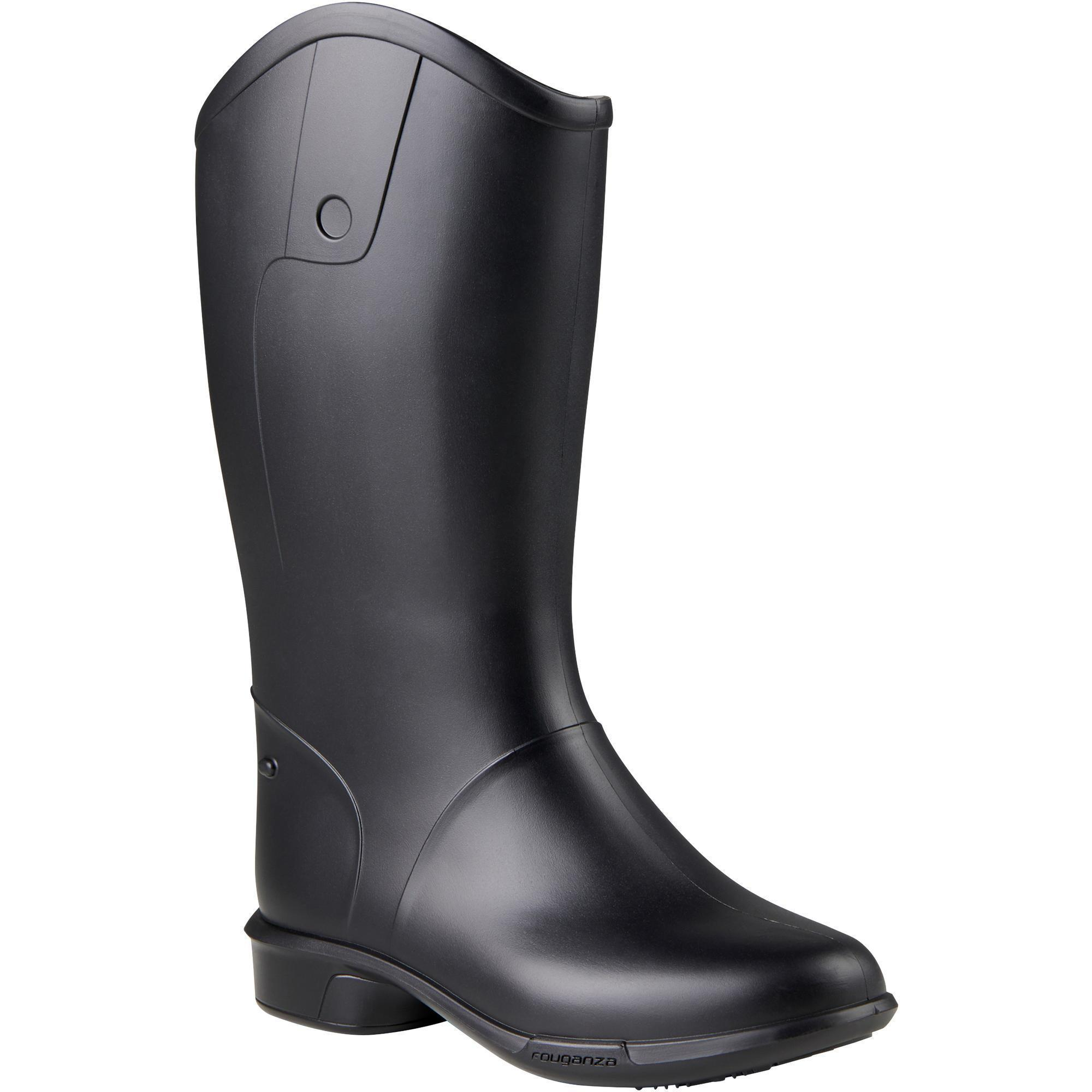100 Schooling Baby Children's Horse Riding Boots | Fouganza