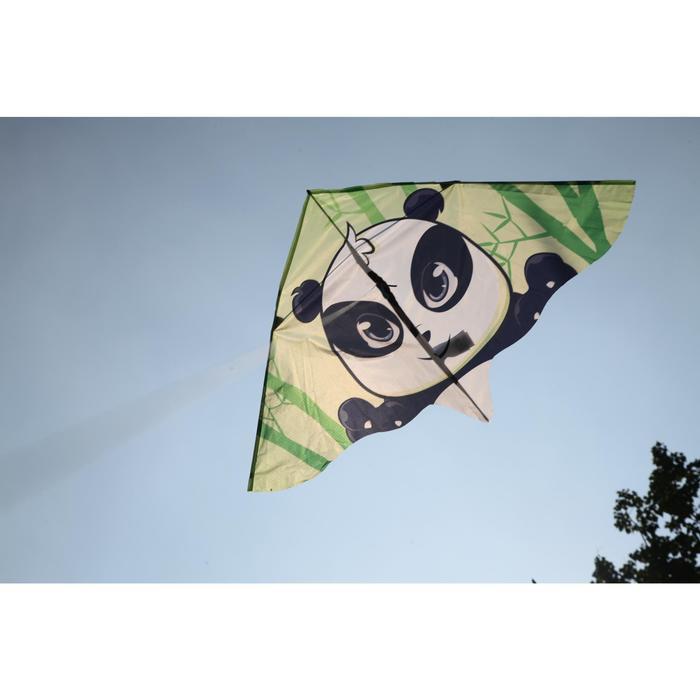 Cometas acrobáticas Playa Orao Para Niños MFK 120 Blanco/Verde/Negro Panda