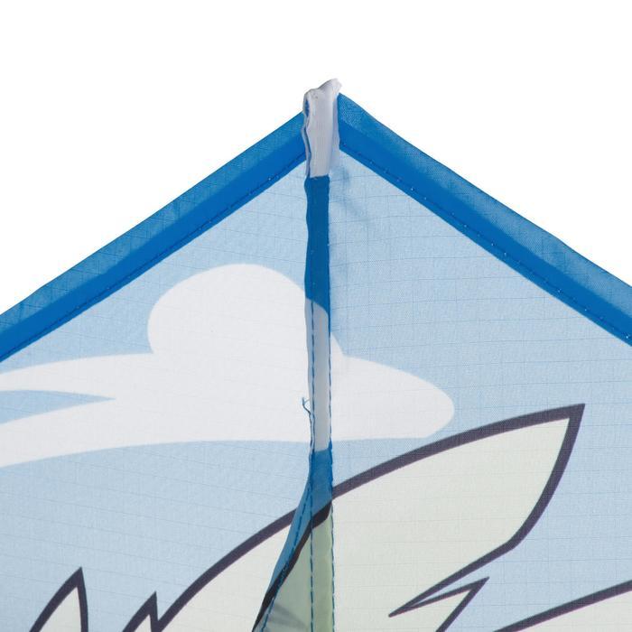 Cometas Monohilo Playa Orao Para Niños MFK 120 Marfil/Azul/Marrón Águila