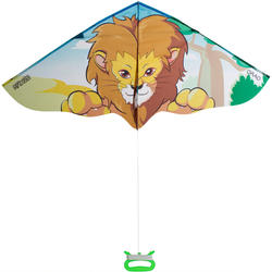 KIDS' KITE STATIC 120 - LION