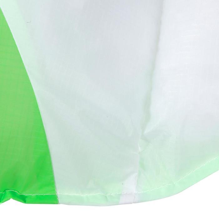 COMETA DE TRACCIÓN de 1,9 m2 + barra verde flúor