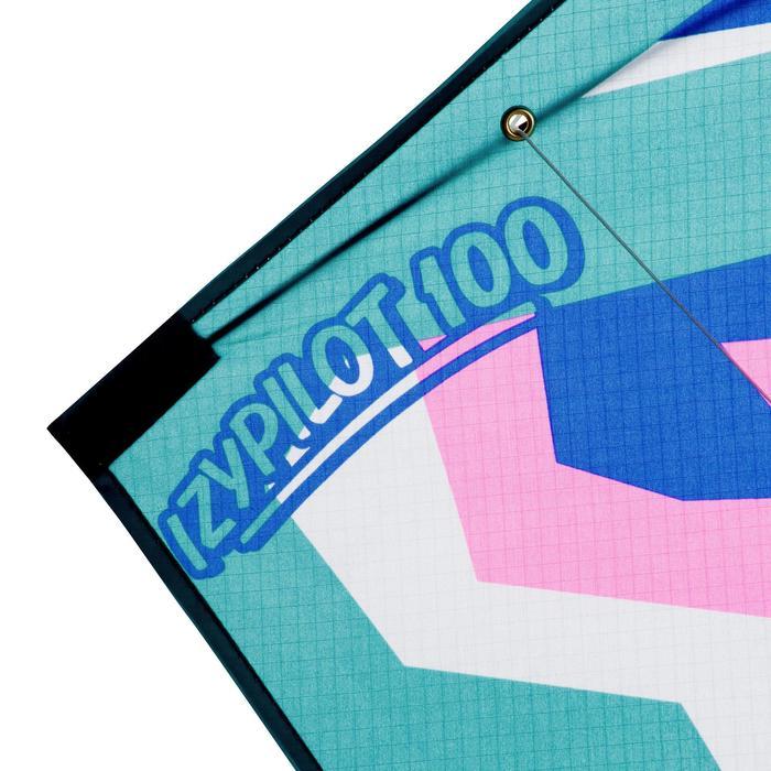 Lenkdrachen 2-in-1 lenkbar und statisch Izypilot 100 pink