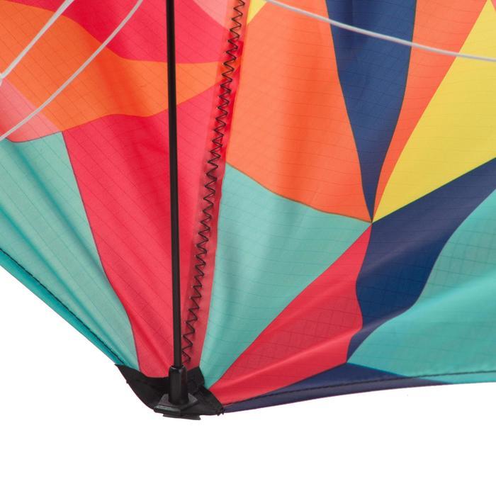 Cometas acrobáticas Playa Orao FEEL'R 160 Naranja/Azul/Amarillo/Rosa