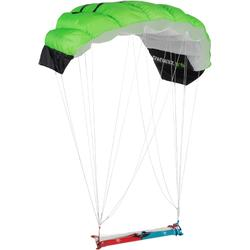 Powerkite 0,6 m² + bar fluogroen