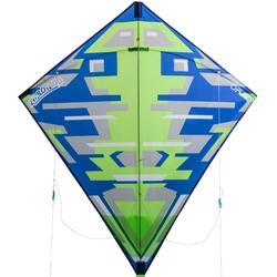 Lenkdrachen 2-in-1 (lenkbar und statisch) Izypilot 100 neongrün