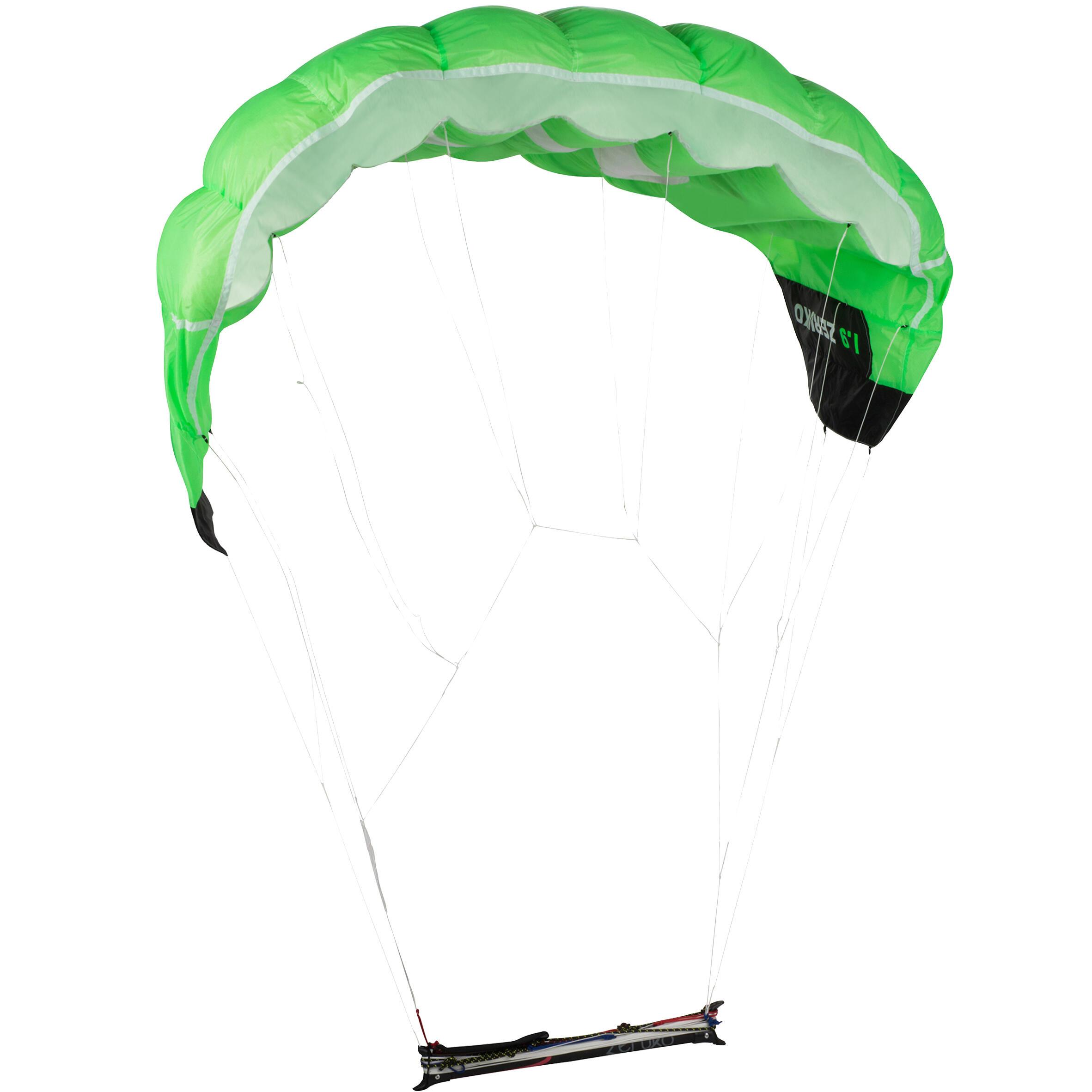 Aripă de tracțiune1.9M2 Verde imagine