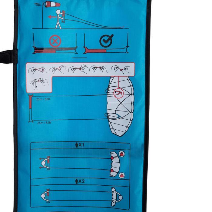 AILE DE TRACTION 1.2m2 + barre bleue - 1210589