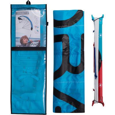 AILE DE TRACTION 1.2m2 + barre bleue