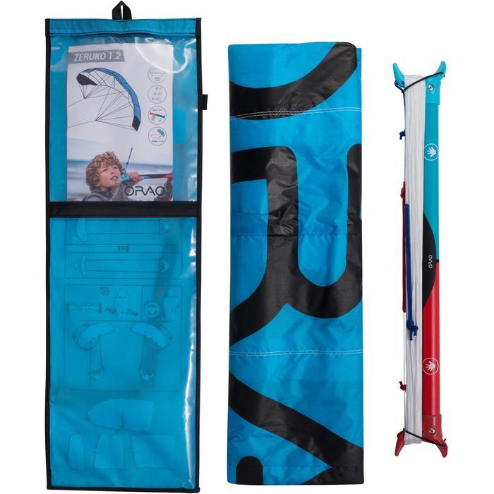 AILE DE TRACTION 1.2m2 + barre bleue - 1210591