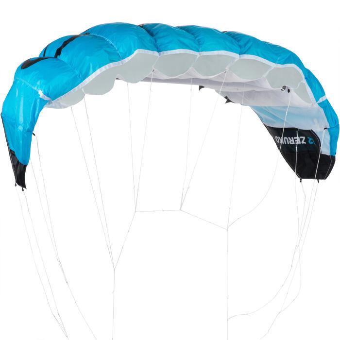 Powerkite 1,2 m² + bar blauw