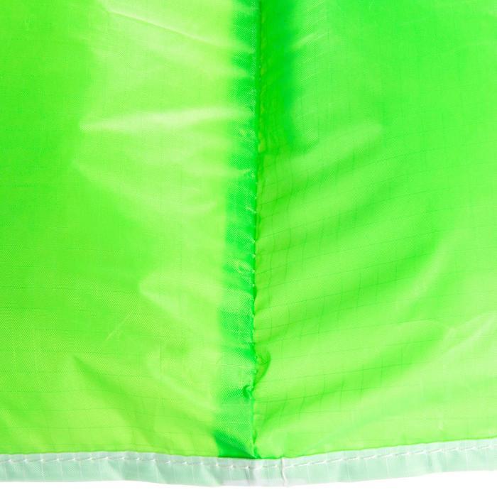 AILE DE TRACTION 0.6m2 + barre verte fluo