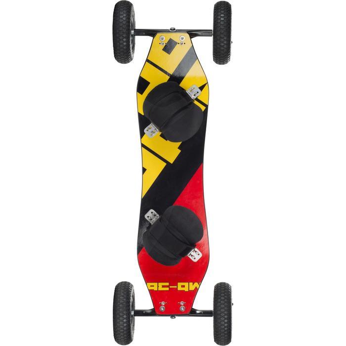 """Mountain board SIDE ON """"Luxus"""" rojo"""