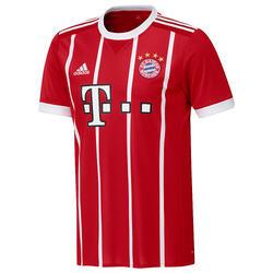 Fußballtrikot FC Bayern München Home 2017/2018 Erwachsene rot