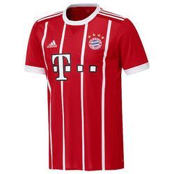 Camiseta de fútbol para niños réplica FC Bayern local rojo