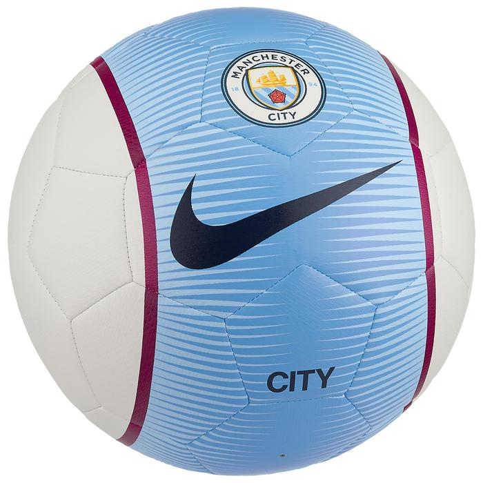 Ballon football Manchester City blanc bleu - 1210759