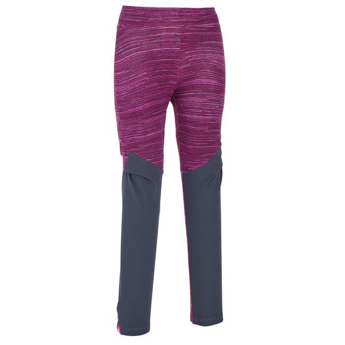 Leggings de senderismo MH100 violeta niña
