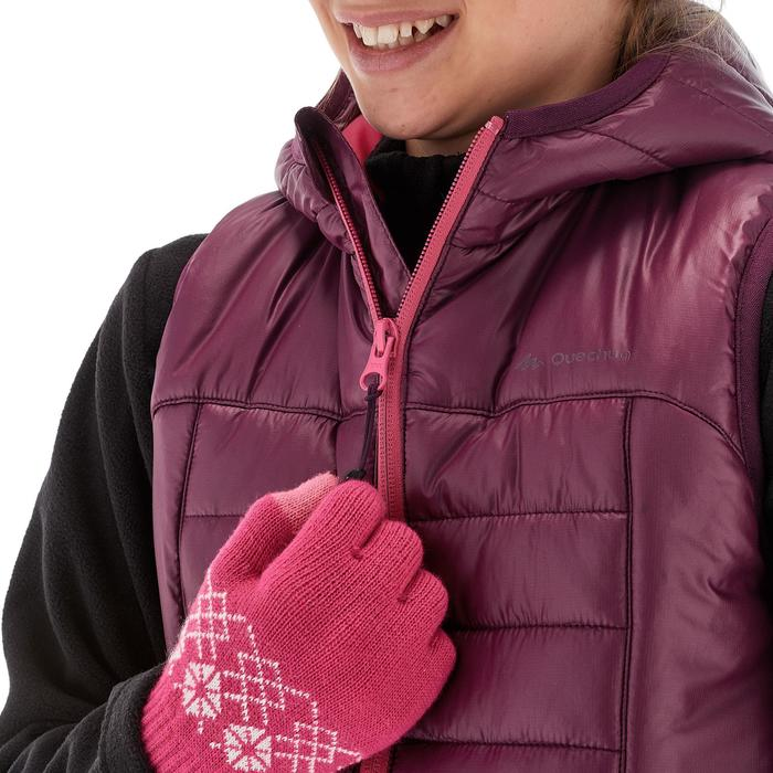 Gilet doudoune de randonnée Hike 500 fille - 1210811