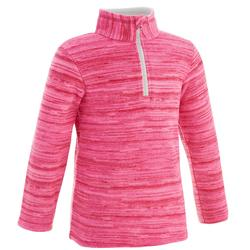 MH120 Kids' Hiking Fleece - Pink