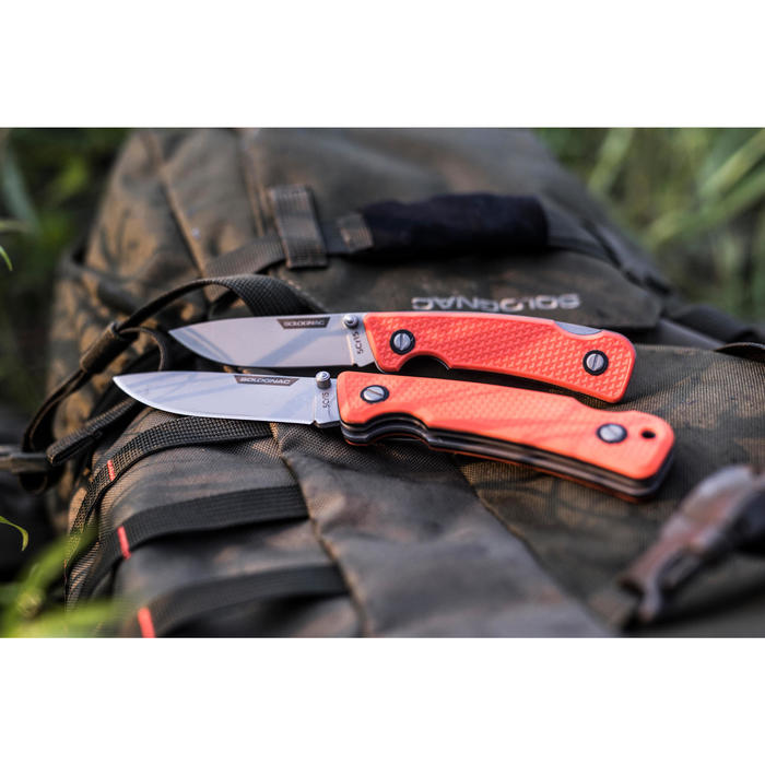 Couteau chasse pliant Axis 85 Grip Orange