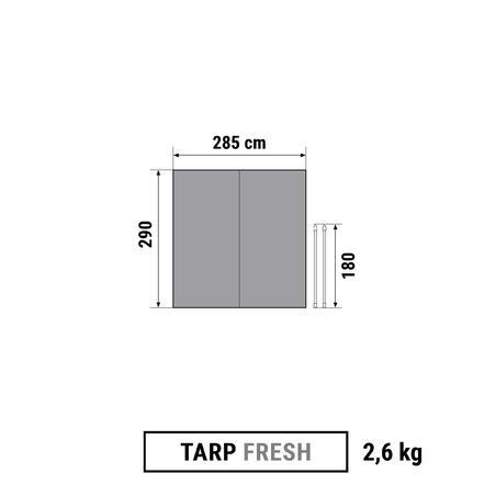 MULTIFUNCTIONAL CAMPING TARP SHELTER - FRESH