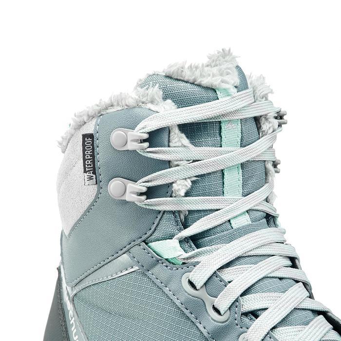 Chaussures de randonnée neige femme SH500 active chaudes et imperméables - 1210980