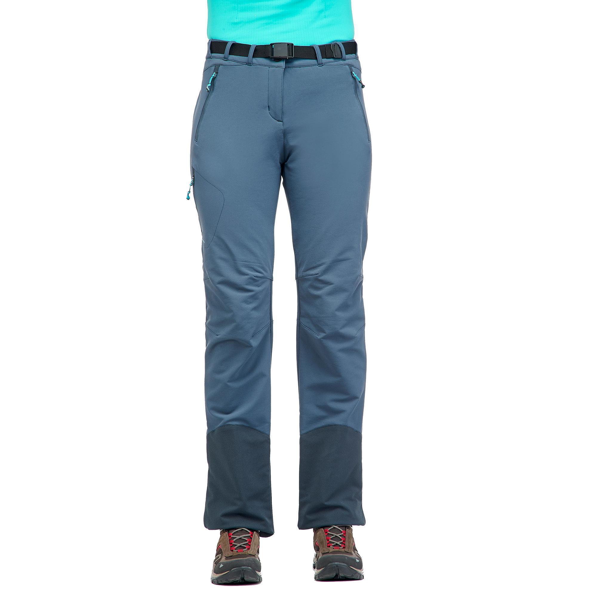 Pantalón stretch azul warm SH500 de china x nieve senderismo mujer wHUFwqOC 02f4d940798