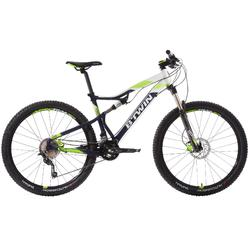 "MTB Rockrider 560 S 27.5"" Shimano Deore 2x10-speed full suspension mountainbike"