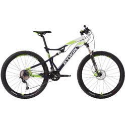 "MTB Rockrider 560 S 27.5"" Shimano Deore 2x10-speed full suspension mountainbike"