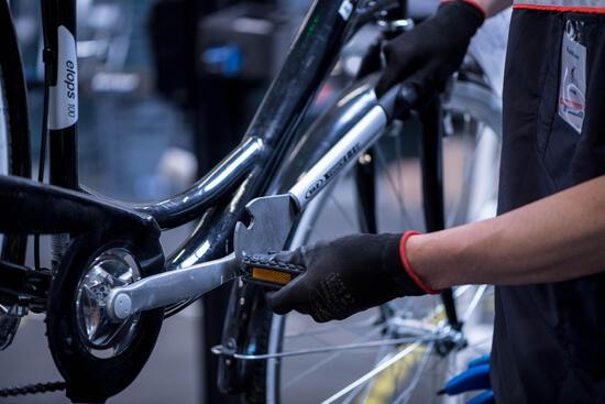 Vervangen van een paar pedalen