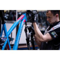 Changement moteur central vélo électrique
