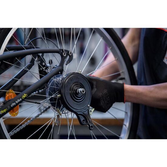 Sustitución de la rueda con freno tambor, o de rueda Nexus o Sturmey