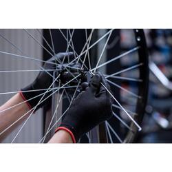Changement de rayons d'une roue