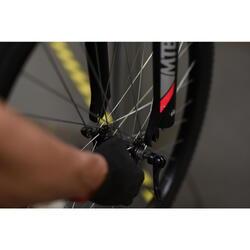 Vervangen van een wiel (voor- of achterwiel)