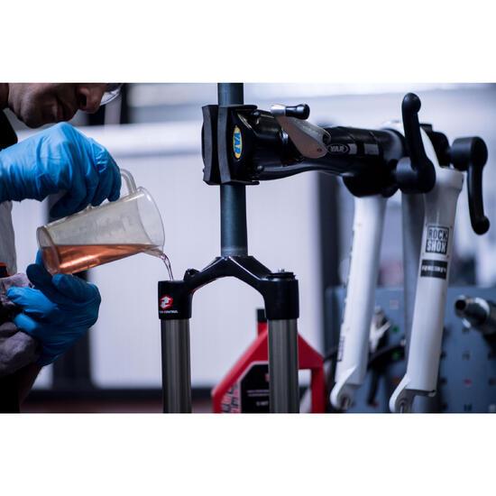 Mantenimiento de la horquilla hidráulica